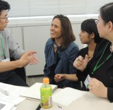 Dr. Monica Fitzgerald [Colorado Kempe Center}, Shiho Kunihiro [Interpreter]   with the Tokyo TF-CBT Students